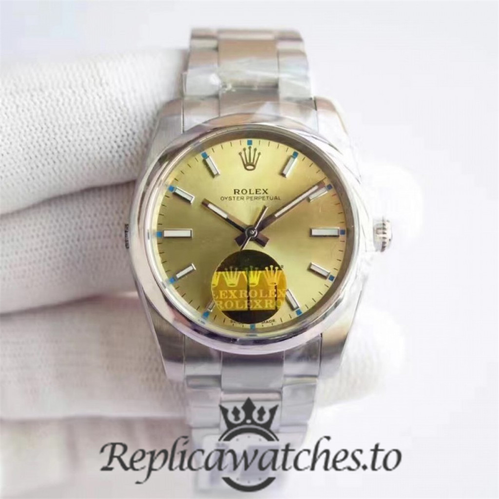 Swiss Rolex Oyster Perpetual Replica 114300 003 Stainless Steel 410L Automatic 34mm