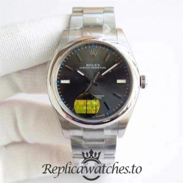 Swiss Rolex Oyster Perpetual Replica 114300 004 Stainless Steel 410L Automatic 34mm