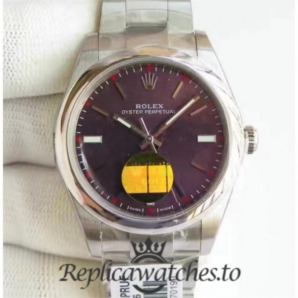 Swiss Rolex Oyster Perpetual Replica 114300 005 Stainless Steel 410L Automatic 39mm