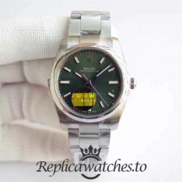 Swiss Rolex Oyster Perpetual Replica 114300 006 Stainless Steel 410L Automatic 34mm