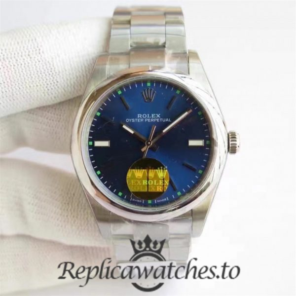 Swiss Rolex Oyster Perpetual Replica 114300 007 Stainless Steel 410L Automatic 34mm