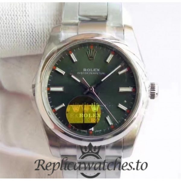 Swiss Rolex Oyster Perpetual Replica 114300 010 Stainless Steel 410L Automatic 39mm