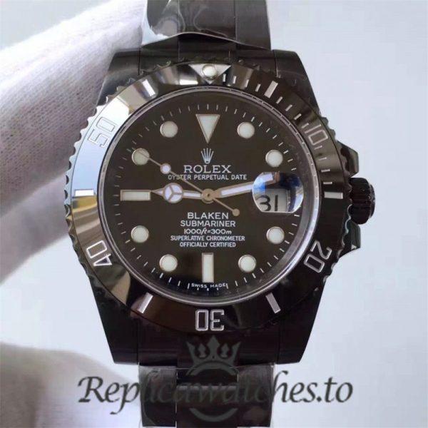 Swiss Rolex Submariner Replica 116610LN 002 PVD Automatic 40mm