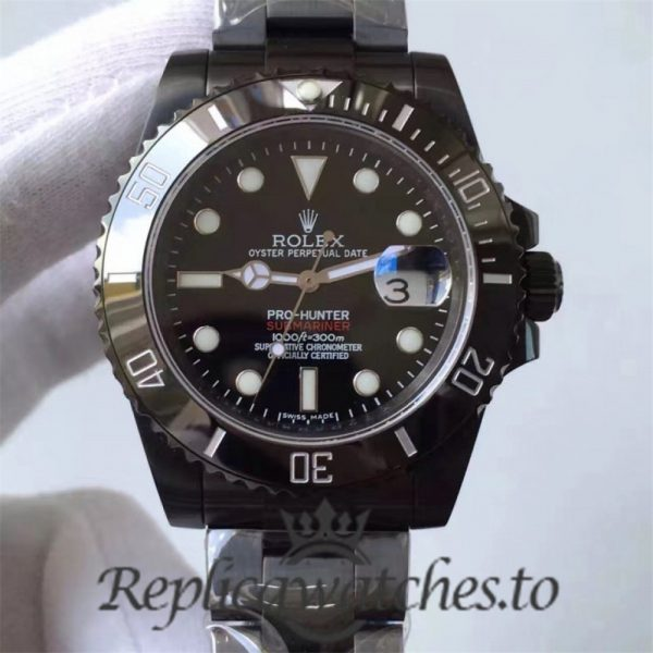 Swiss Rolex Submariner Replica 116610LN 005 PVD Automatic 40mm
