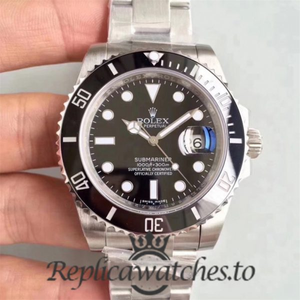 Swiss Rolex Submariner Replica 116610LN 012 Stainless Steel 904L Automatic 40mm