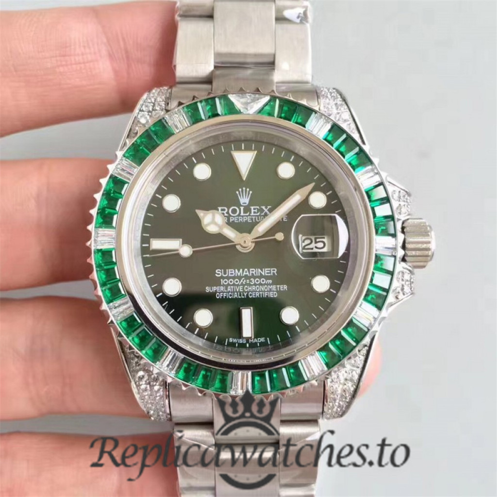 Swiss Rolex Submariner Replica 116610LV 001 Stainless Steel 410L Automatic 40mm
