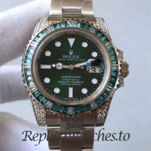 Swiss Rolex Submariner Replica 116610LV 003 Stainless Steel 410L Automatic 40mm