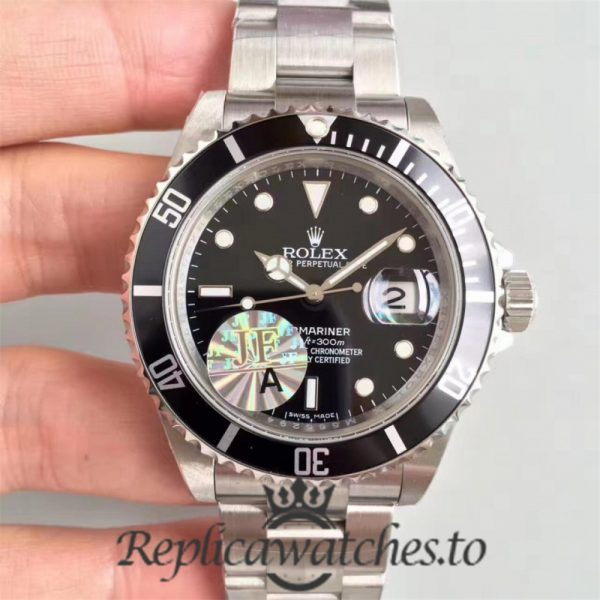 Swiss Rolex Submariner Replica 16610 Stainless Steel 410L Automatic 40mm