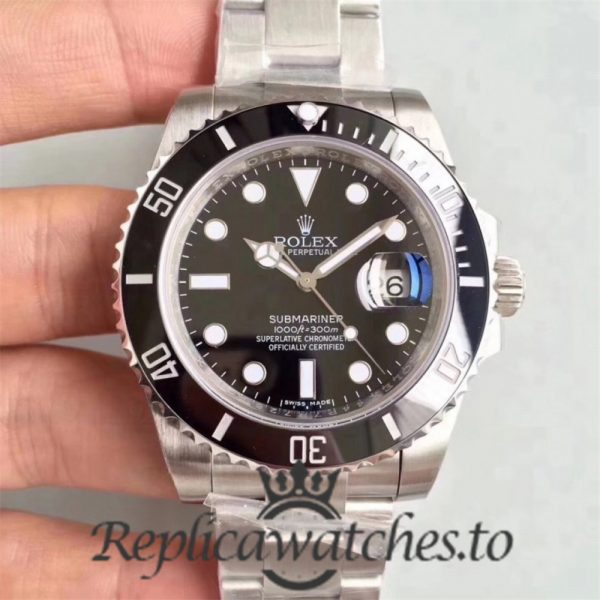 Swiss Rolex Submariner V8S Replica 116610LN 001 Stainless Steel 410L Automatic 40mm