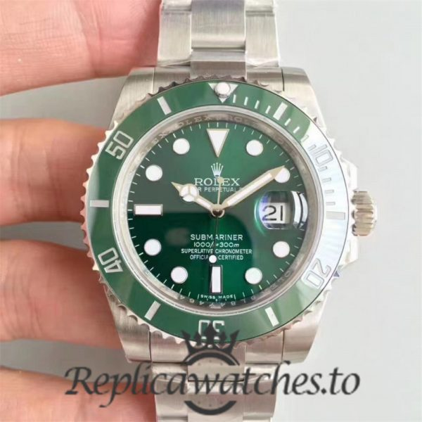 Swiss Rolex Submariner V8S Replica 116610LV 001 Stainless Steel 410L Automatic 40mm