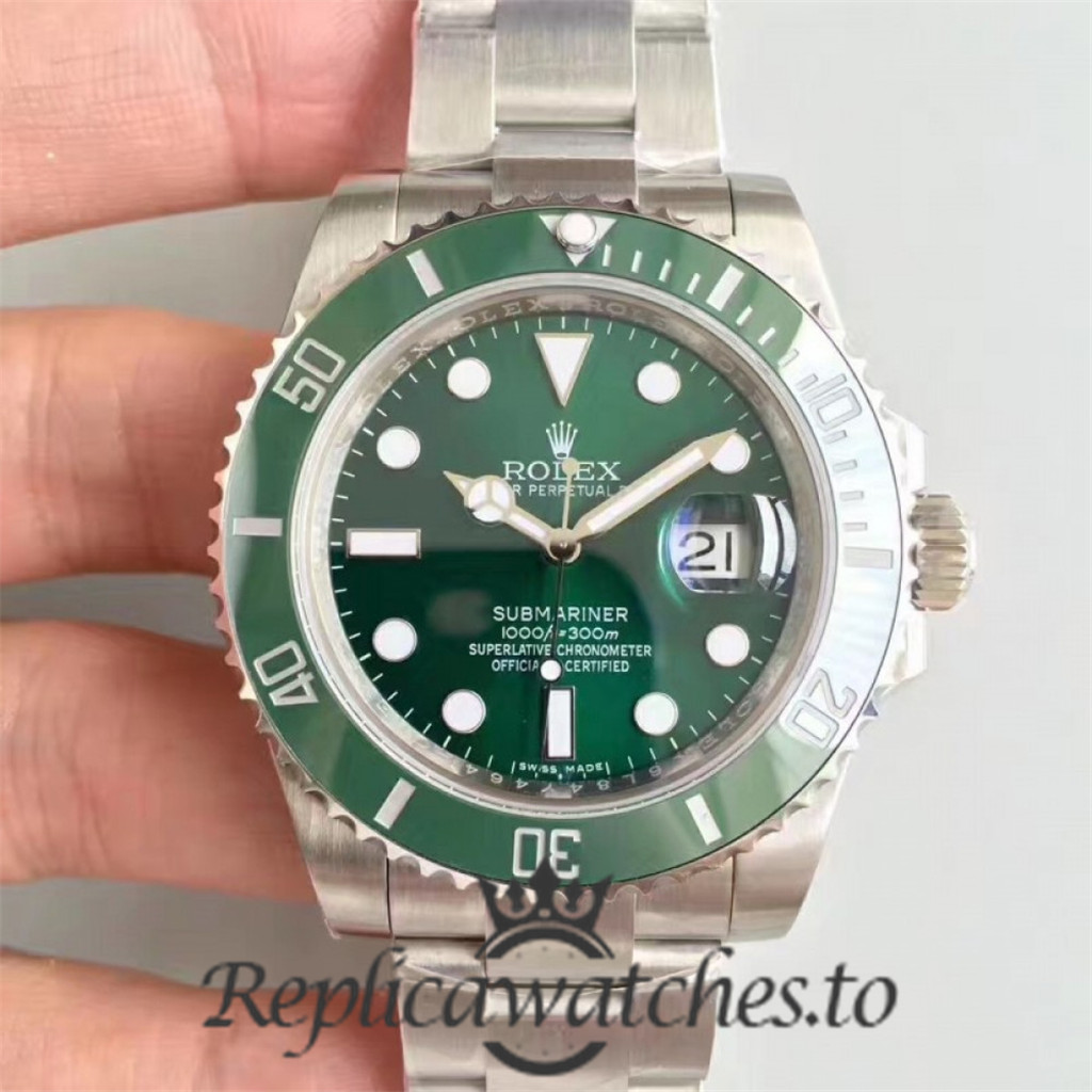 Swiss Rolex Submariner V8S Replica 116610LV Stainless Steel 410L Automatic 40mm