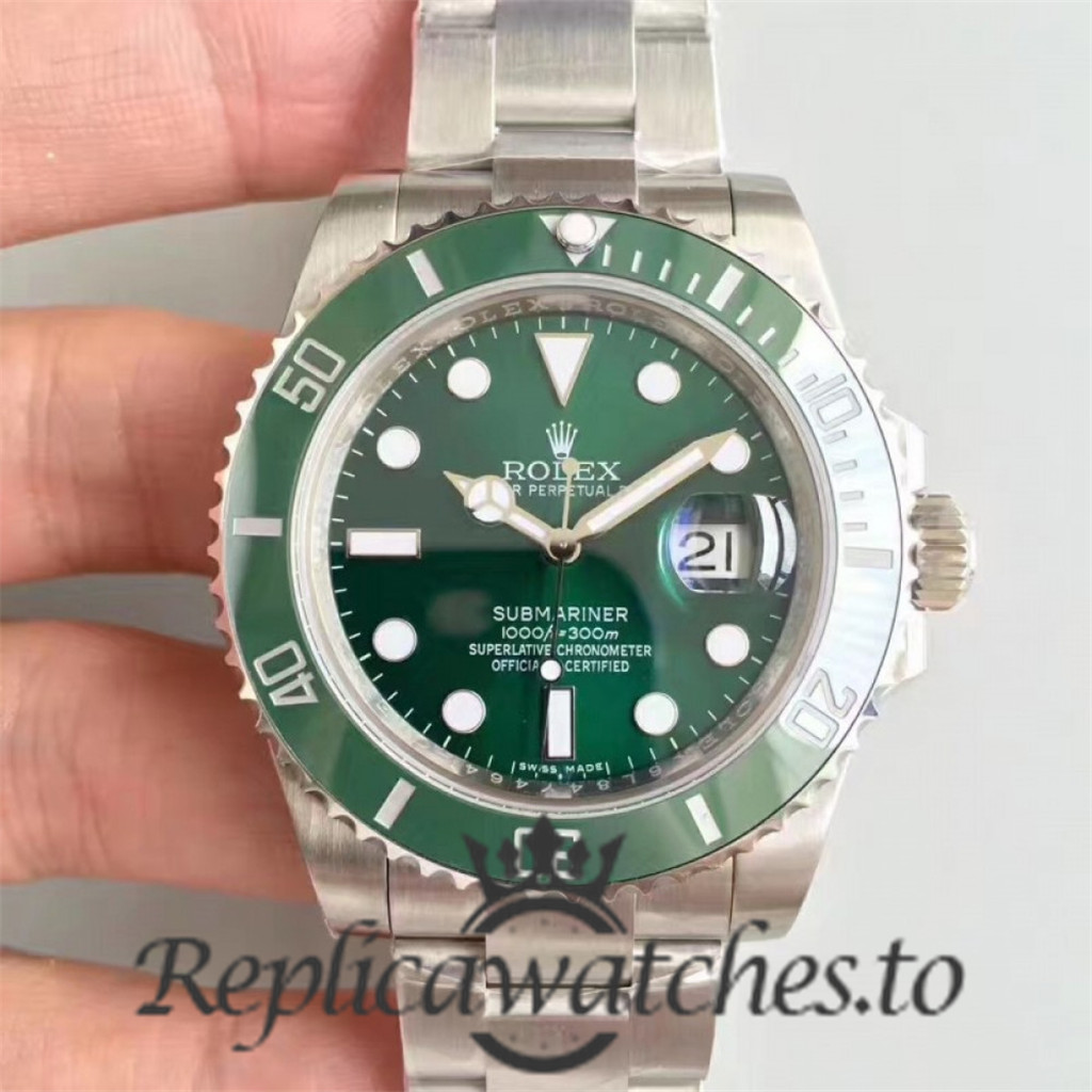 Swiss Rolex Submariner Replica 116610LV 004 Stainless Steel 410L Automatic 40mm