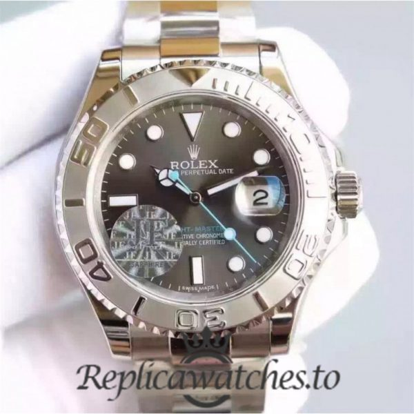 Swiss Rolex Yacht-Master Replica 116620 007 Stainless Steel 410L Automatic 40mm
