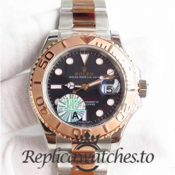 Swiss Rolex Yacht-Master Replica 116621 003 Stainless Steel 410L and 18K Rose Gold Automatic 40mm