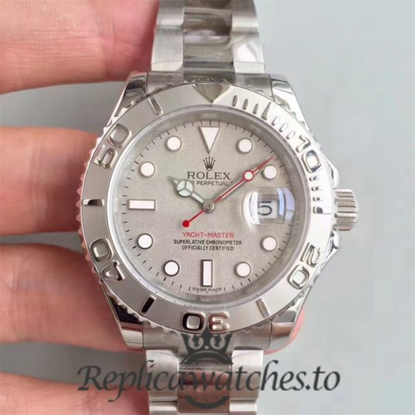Swiss Rolex Yacht-Master Replica 116622 001 Stainless Steel 410L Automatic 40mm
