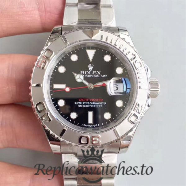 Swiss Rolex Yacht-Master Replica 116622 004 Stainless Steel 410L Automatic 40mm