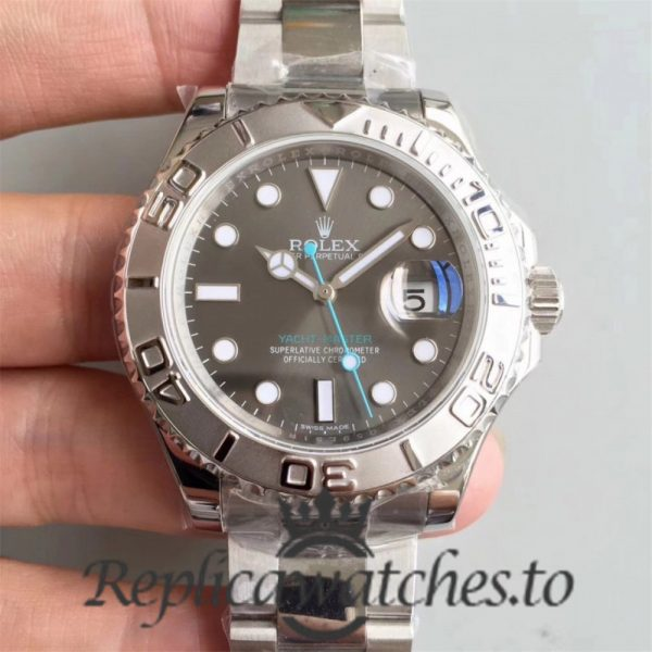 Swiss Rolex Yacht-Master Replica 116622 005 Stainless Steel 410L Automatic 40mm