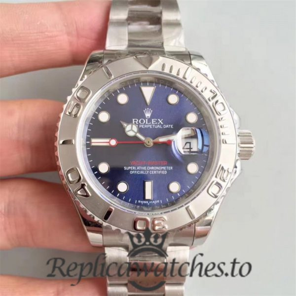 Swiss Rolex Yacht-Master Replica 116622 007 Stainless Steel 410L Automatic 40mm