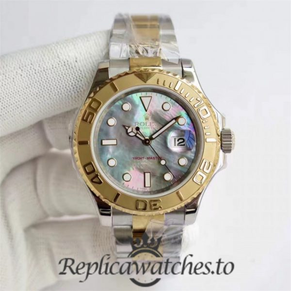Swiss Rolex Yacht-Master Replica 116622 008 Stainless Steel 410L and 18K Yellow Gold Automatic 40mm
