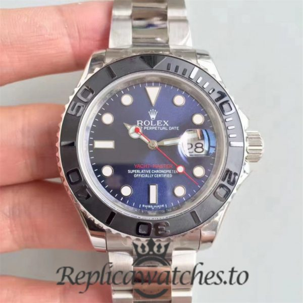 Swiss Rolex Yacht-Master Replica 116622 010 Stainless Steel 410L Automatic 40mm