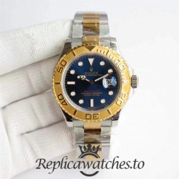 Swiss Rolex Yacht-Master Replica 116622 011 Stainless Steel 410L and 18K Yellow Gold Automatic 40mm
