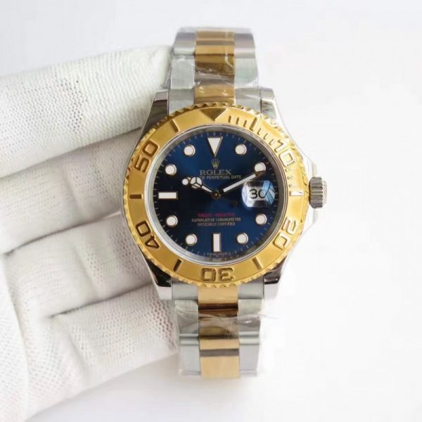 Swiss Rolex Yacht-Master Replica 116622 012 Stainless Steel 410L and 18K Yellow Gold Automatic 40mm