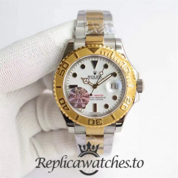 Swiss Rolex Yacht-Master Replica 116622 013 Stainless Steel 410L and 18K Yellow Gold Automatic 40mm