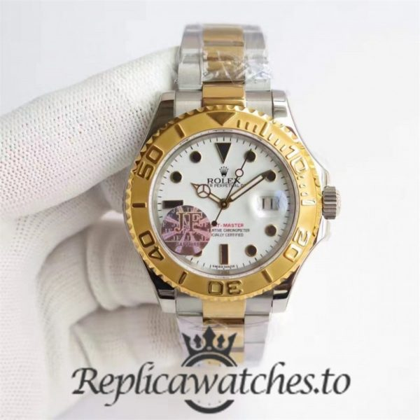 Swiss Rolex Yacht-Master Replica 116622 014 Stainless Steel 410L and 18K Yellow Gold Automatic 40mm
