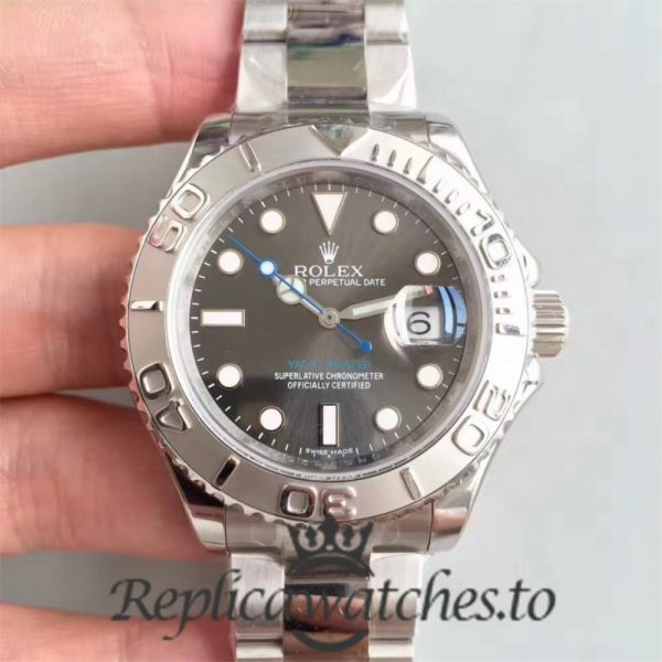 Swiss Rolex Yacht-Master Replica 116622 015 Stainless Steel 410L Automatic 40mm