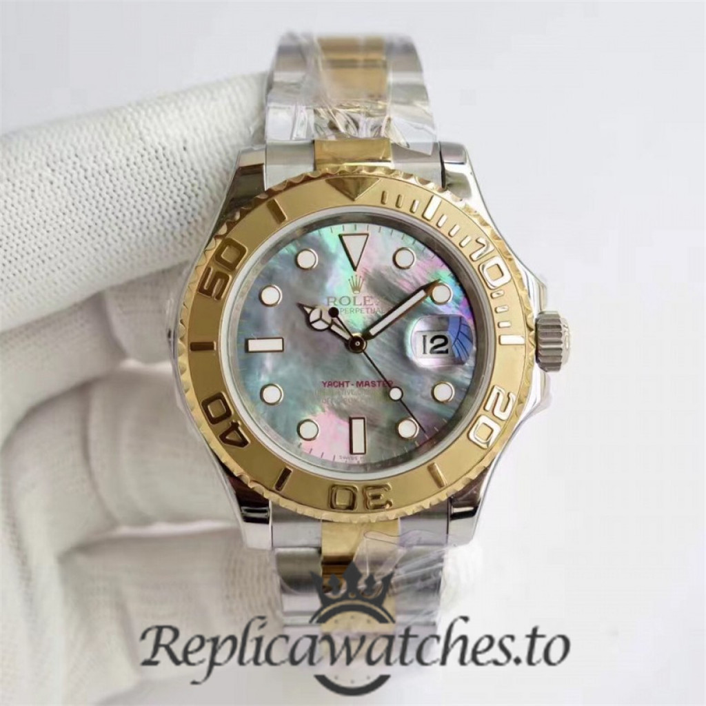 Swiss Rolex Yacht-Master Replica 116622 024 Stainless Steel 410L and 18K Yellow Gold Automatic 40mm