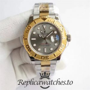 Swiss Rolex Yacht-Master Replica 116622 025 Stainless Steel 410L and 18K Yellow Gold Automatic 40mm
