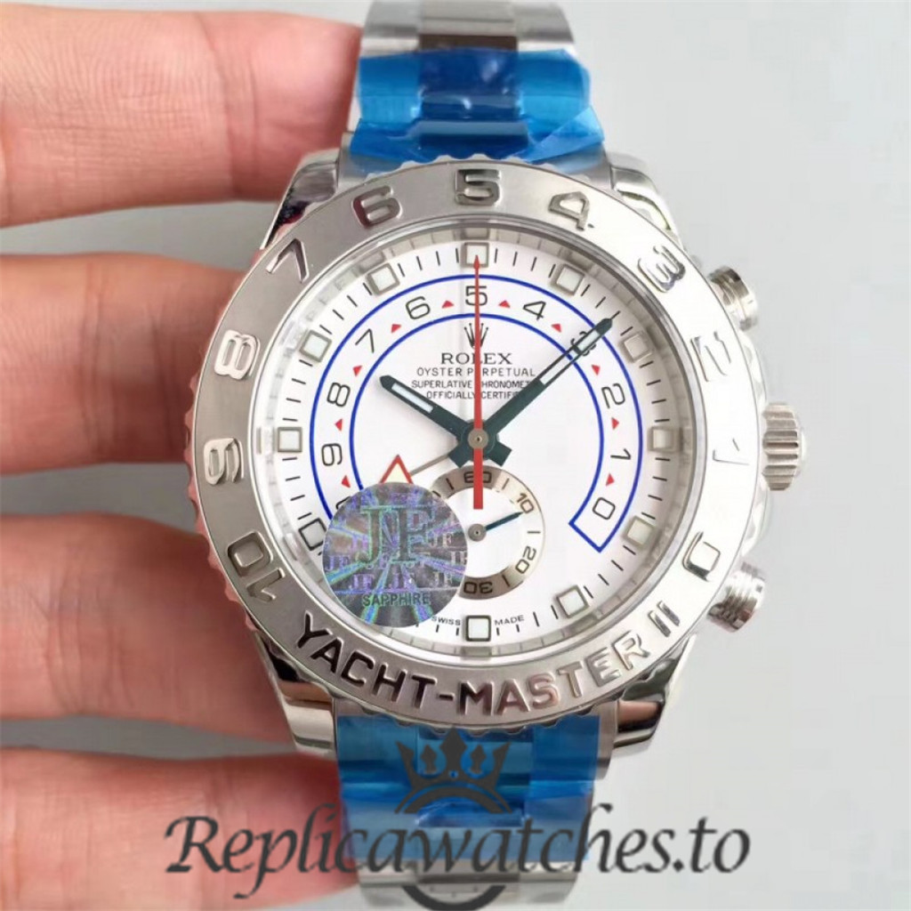 Swiss Rolex Yacht-Master Replica 116689 Stainless Steel 410L Automatic 44mm