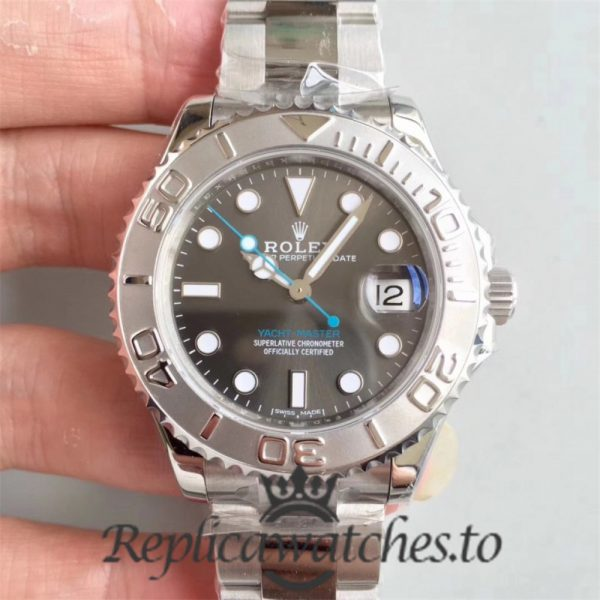 Swiss Rolex Yacht-Master Replica 268622 001 Stainless Steel 904L Automatic 37mm