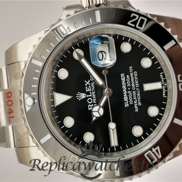 Swiss Rolex Submariner V8S Replica 116610LN Stainless Steel 410L Automatic 40mm
