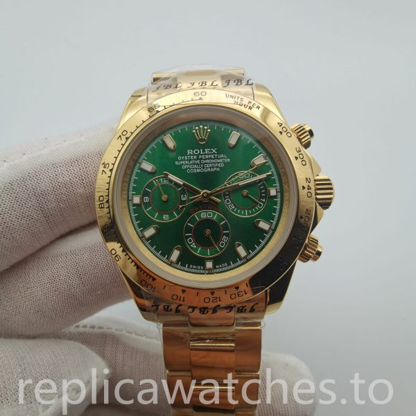 Rolex Daytona 116508 40mm Gold Stainless Steel Safety Buckle Man