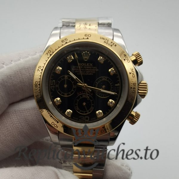 Rolex Daytona 116523 40mm Stainless Steel And 18k Yellow Gold Watch