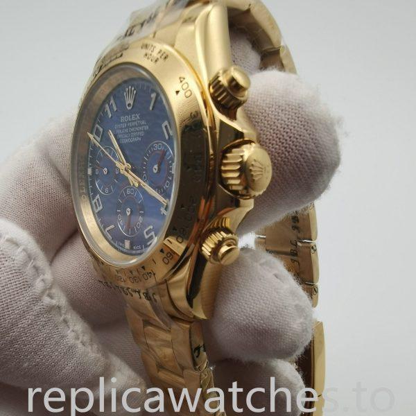 Rolex Daytona 116528 40mm Blue Dial Men's Watch
