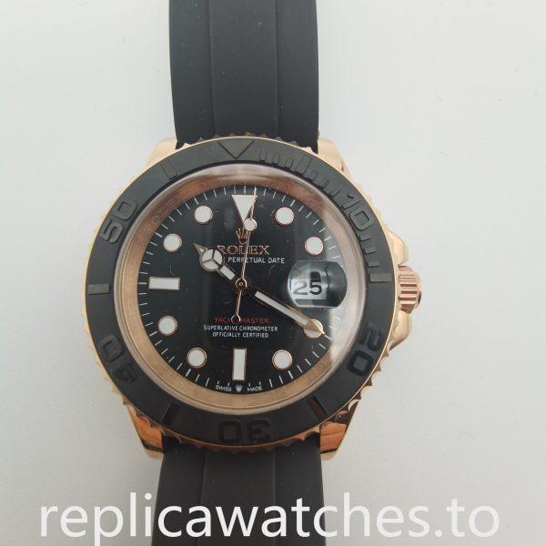 Rolex Yacht-master 116523 40mm Men 18k Everose Gold Watch