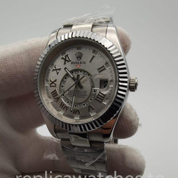 Rolex Sky Dweller 326938 42mm For Men White Dial Watch