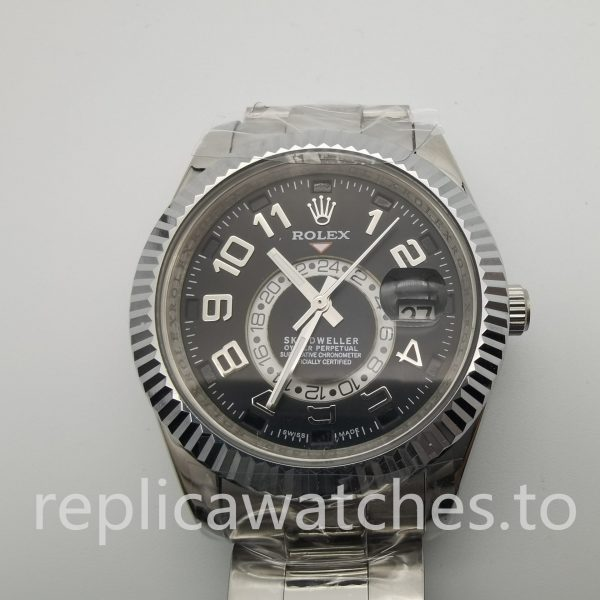 Rolex Sky Dweller 326938 42mm Black Dial For Men watch