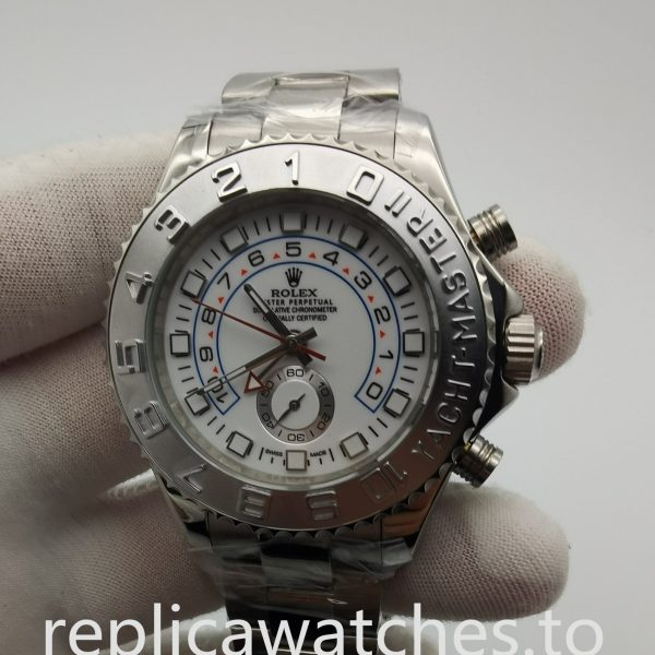 Rolex Yacht-master 116689 44mm 316 Grade Stainless Steel And White Watch