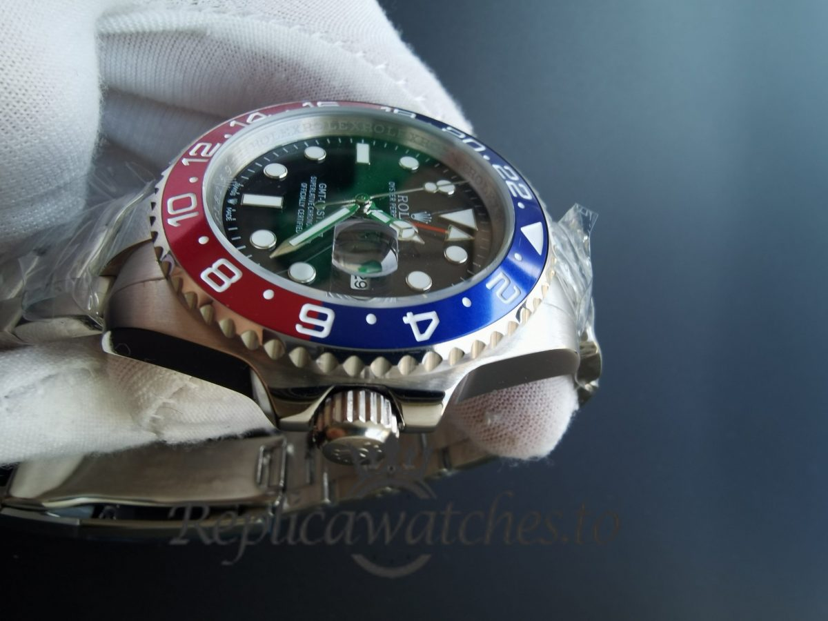 Rolex Gmt-master 16710 40mm Blue And Red Bezel For Men Watch