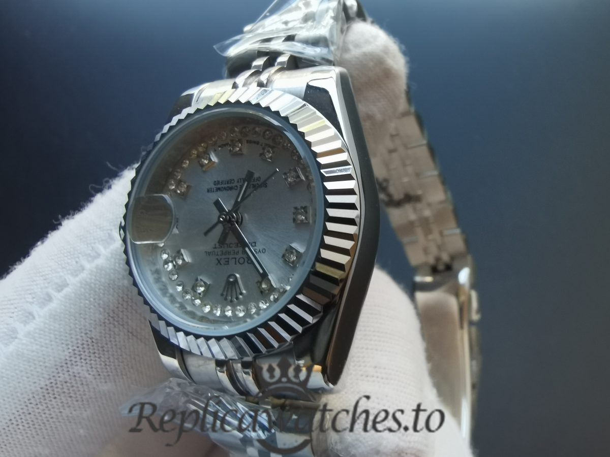 Rolex Datejust 279174 28mm Stainless Steel 18k Gold With Diamond For Women Watch
