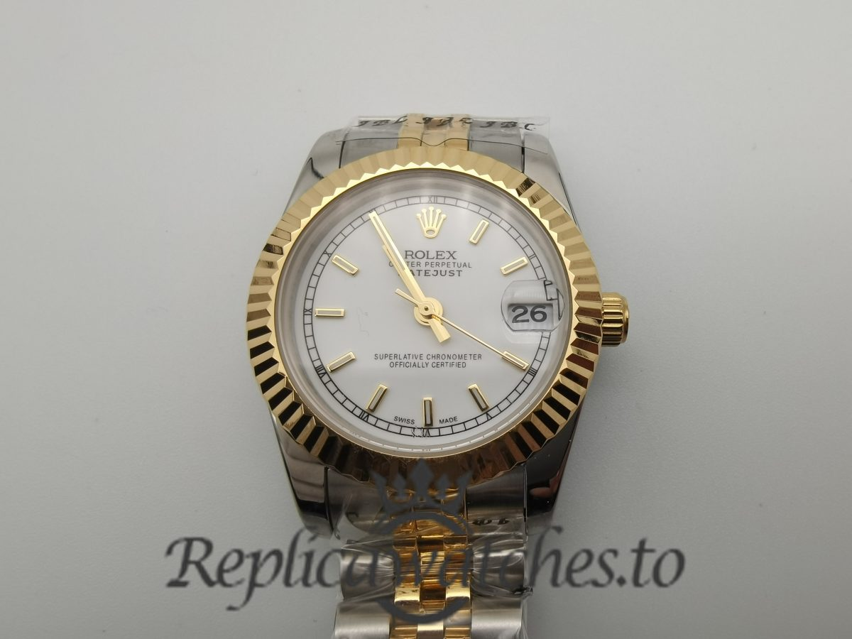 Rolex Datejust 178273 Stainless Steel And 18k Yellow Gold 31mm For Woemn Watch