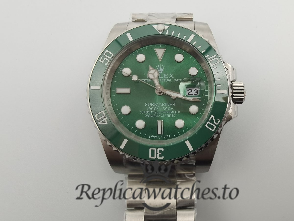 Rolex Submariner 116610lv 40mm For Men Stainless Steel Silver Strap Watch