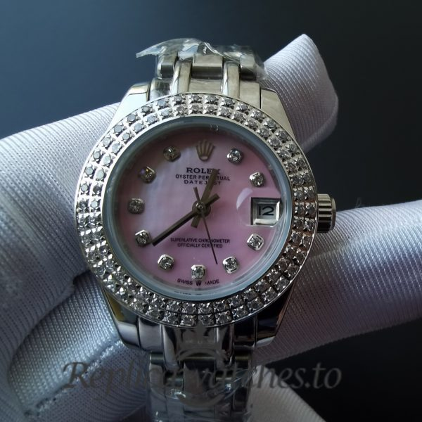 Rolex Datejust 116244 For Women 316 Grade Stainless Steel With Diamonds 36mm Watch