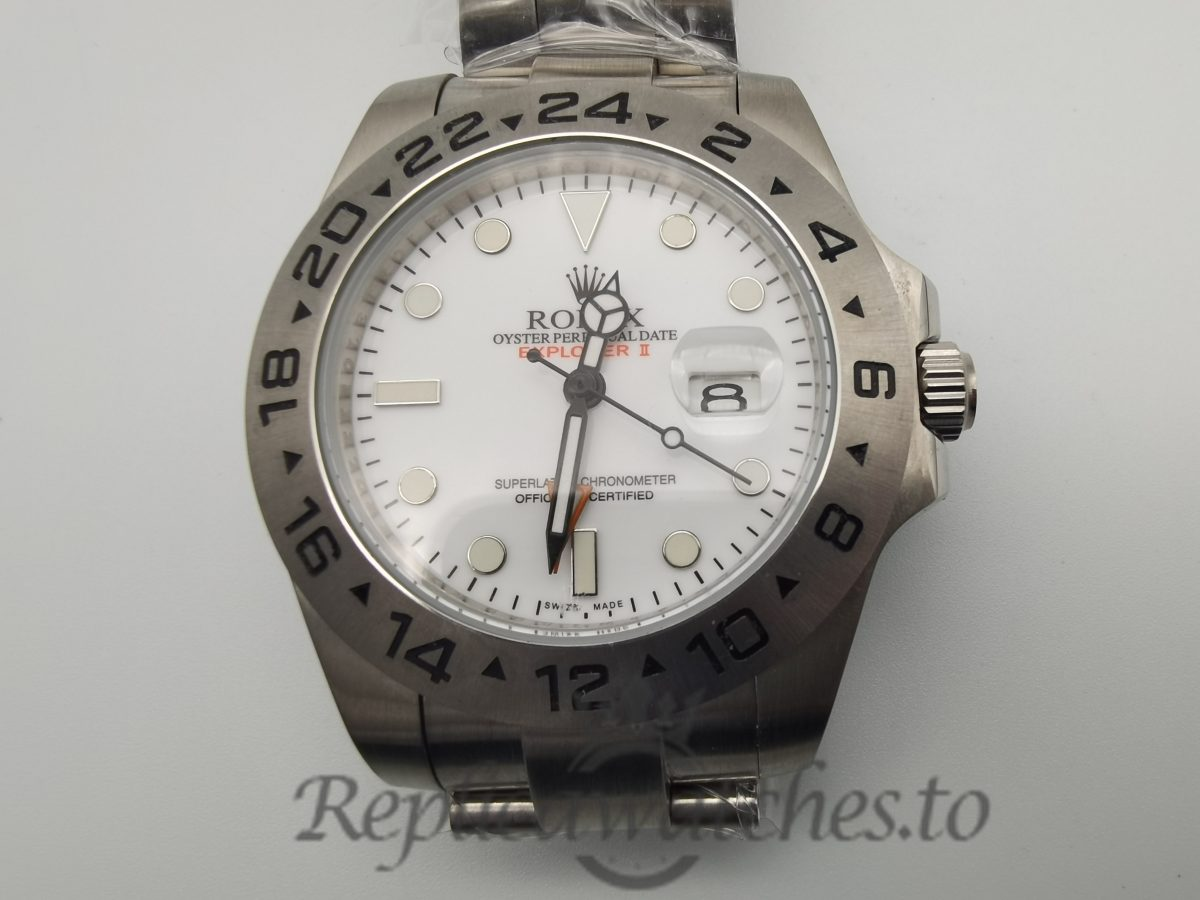 Rolex Explorer 216570 Stainless Steel And Silver Bracelet For Men 42mm Watc
