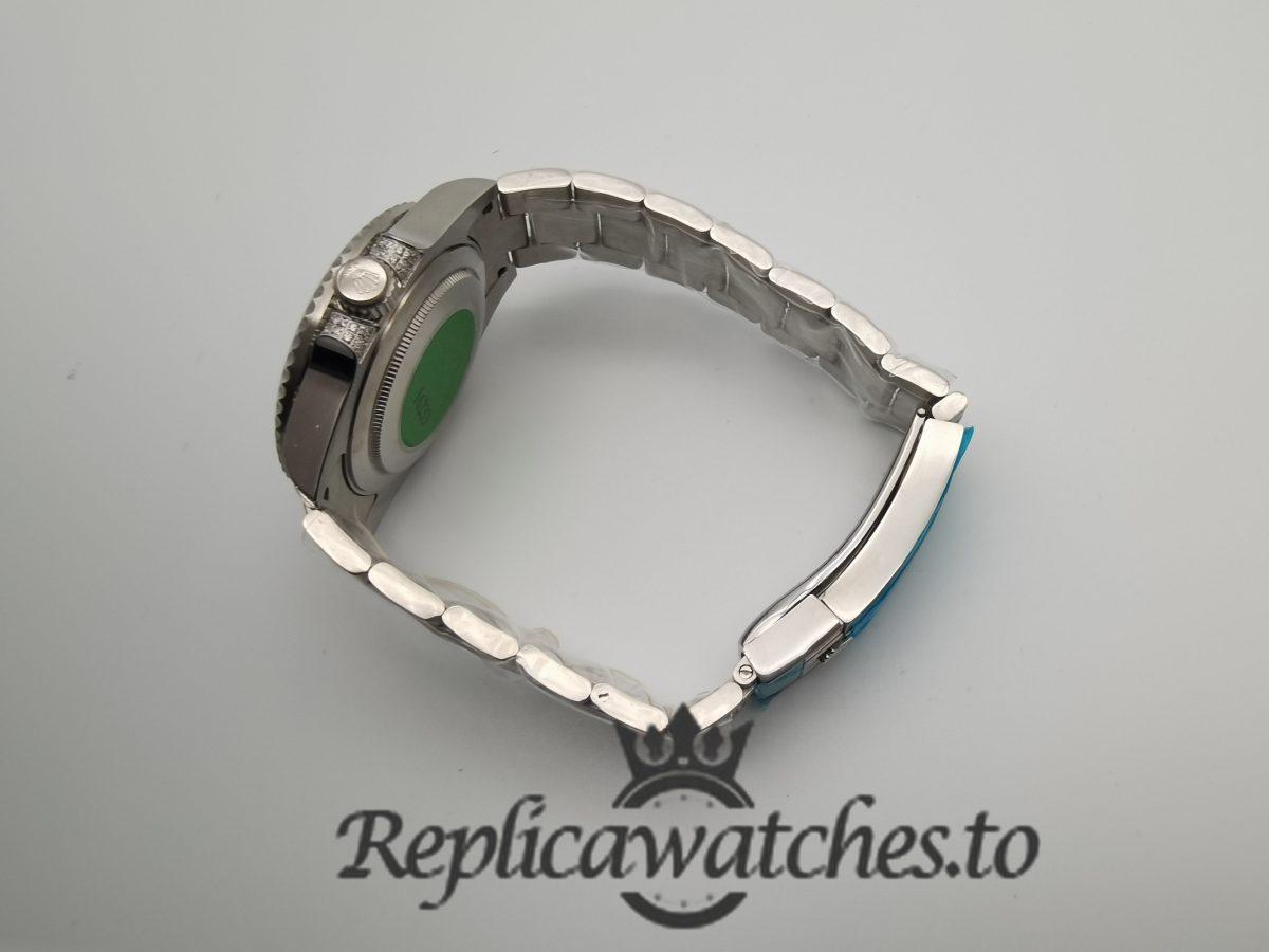 Rolex Gmt-master 116759 18k White Gold silver Strap For Men 40mm Watch