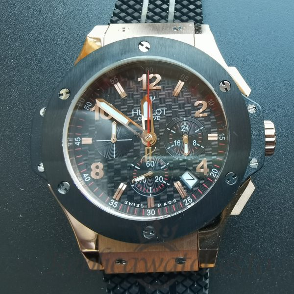 Hublot Big Bang 301.Pb.131.Rx Black Dial And Rose Gold 44mm For Men Watch