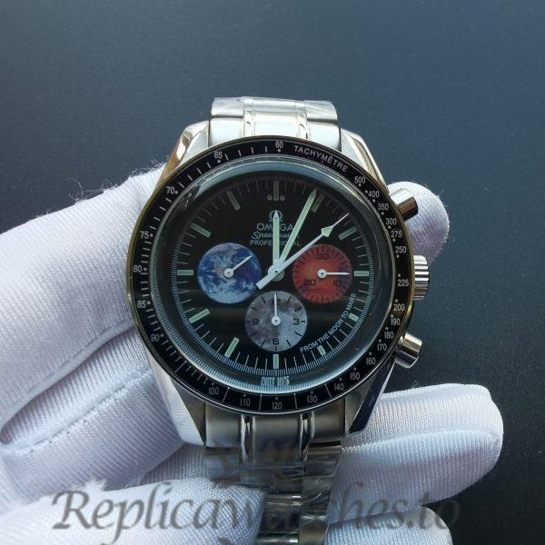 Omega Speedmaster 3577.50.00 42 Mm For Men Stainless Steel Black Dial Watch